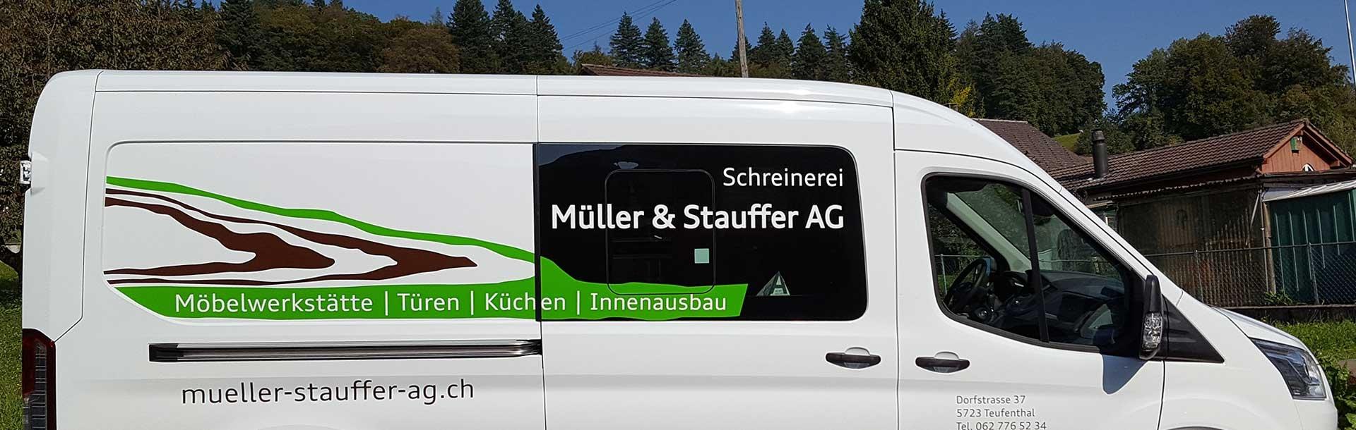Schreinerei Müller & Stauffer AG, Dorfstrasse 37, 5723 Teufenthal AG