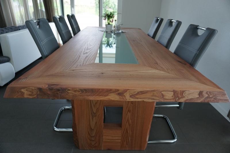 Tisch Massivholz Ulme
